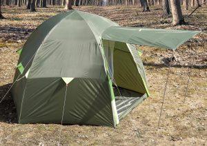 Фото Летняя палатка Лотос 3 Саммер (модель 2019)