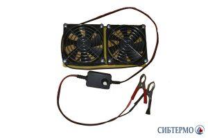Фото Кассета из двух вентиляторов для СТ-2,5; 2,9 с диммером и дисплеем