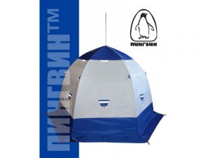 Фото Зимняя палатка Пингвин 3 с дышащим верхом (1-сл.)