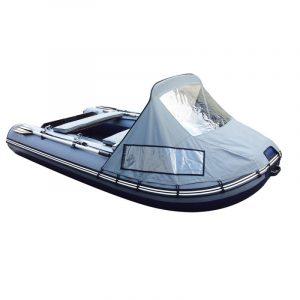 Фото носового тента с окном на лодку Altair HD 380